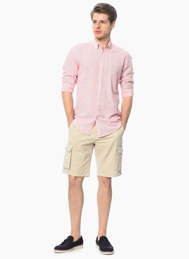George Hogg Uzun Kollu Gömlek Kırmızı